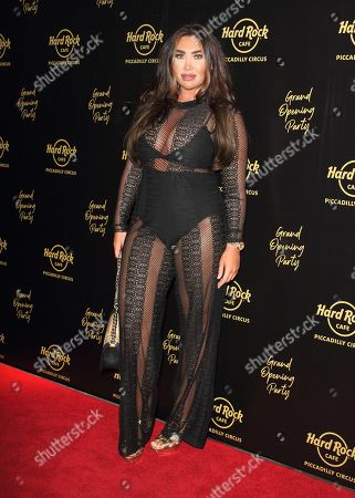 Stock Image of Lauren Goodger
