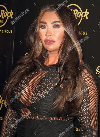 Stock Picture of Lauren Goodger