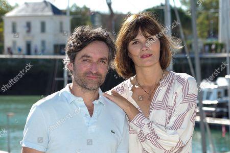 Mathieu Demy and Marina Hands