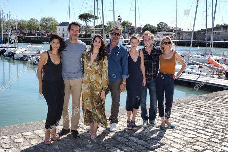 Juliette Navis, Ben, Louise Monot, Thierry Neuvic, Tiphaine Daviot and Sebastien Chassagne