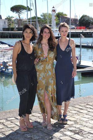 Juliette Navis, Louise Monot and Tiphaine Daviot