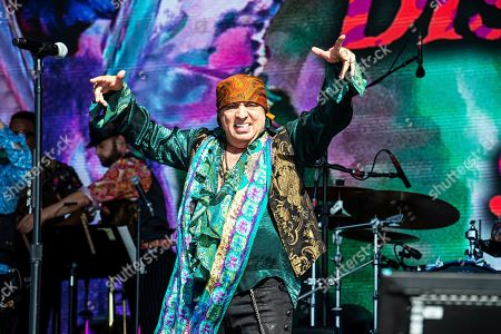 Stock Picture of Stevie Van Zandt of Little Steven and The Discples of Soul performs during KAABOO 2019 at the Del Mar Racetrack and Fairgrounds, in San Diego, Calif