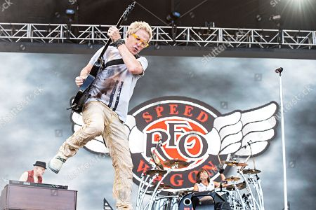 Kevin Cronin of REO Speedwagon performs during KAABOO 2019 at the Del Mar Racetrack and Fairgrounds, in San Diego, Calif