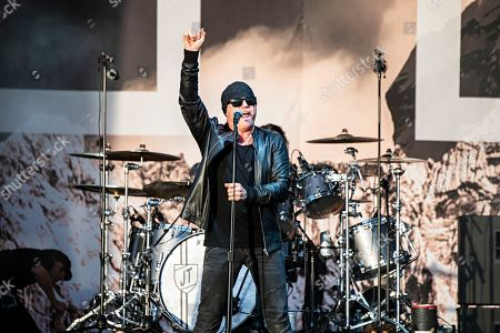 Stock Picture of Ian Astbury of The Cult performs during KAABOO 2019 at the Del Mar Racetrack and Fairgrounds, in San Diego, Calif