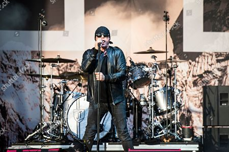 Ian Astbury of The Cult performs during KAABOO 2019 at the Del Mar Racetrack and Fairgrounds, in San Diego, Calif