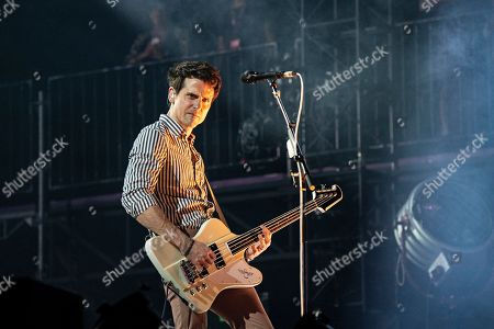 Jared Followill performs during KAABOO 2019 at the Del Mar Racetrack and Fairgrounds, in San Diego, Calif