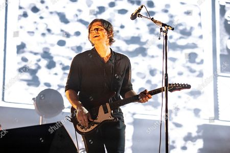 Stock Photo of Matthew Followill performs during KAABOO 2019 at the Del Mar Racetrack and Fairgrounds, in San Diego, Calif