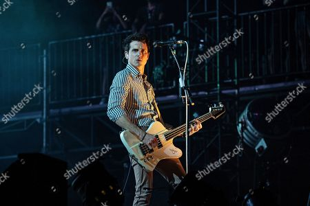 Stock Image of Jared Followill performs during KAABOO 2019 at the Del Mar Racetrack and Fairgrounds, in San Diego, Calif