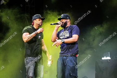 Stock Photo of Method Man Ghostface Killah. Method Man, left, and Ghostface Killah of Wu-Tang Clan performs during KAABOO 2019 at the Del Mar Racetrack and Fairgrounds, in San Diego, Calif