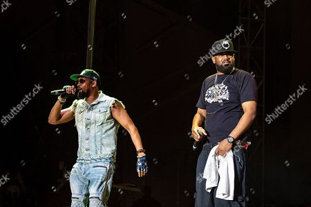 Stock Photo of RZA Ghostface Killah. RZA, left, and Ghostface Killah of Wu-Tang Clan perform during KAABOO 2019 at the Del Mar Racetrack and Fairgrounds, in San Diego, Calif