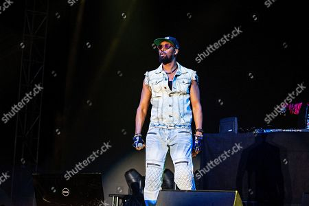 Stock Picture of RZA of Wu-Tang Clan performs during KAABOO 2019 at the Del Mar Racetrack and Fairgrounds, in San Diego, Calif