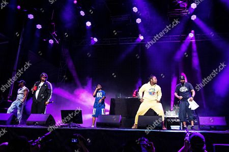 RZA Raekwon GZA Young Dirty Bastard Ghostface Killah. RZA, from left, Raekwon, GZA, Young Dirty Bastard, and Ghostface Killah of Wu-Tang Clan perform during KAABOO 2019 at the Del Mar Racetrack and Fairgrounds, in San Diego, Calif