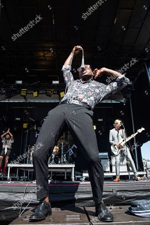 Ty Taylor performs during KAABOO 2019 at the Del Mar Racetrack and Fairgrounds, in San Diego, Calif