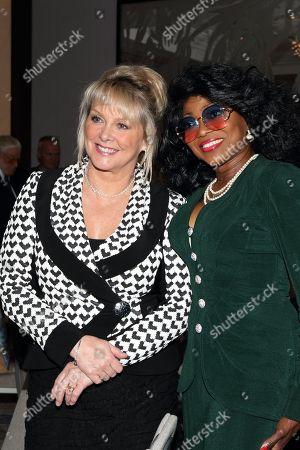 Cheryl Baker and Patti Boulaye