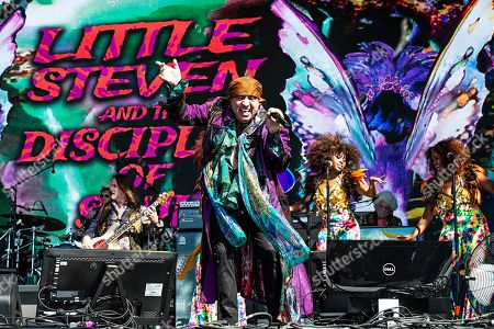 Stevie Van Zandt of Little Steven and The Disciples of Soul performs during KAABOO 2019 at the Del Mar Racetrack and Fairgrounds, in San Diego