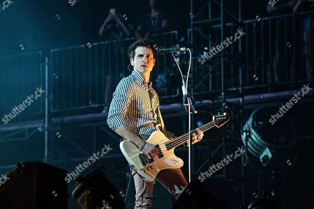 Jared Followill of Kings of Leon performs during KAABOO 2019 at the Del Mar Racetrack and Fairgrounds, in San Diego, Calif