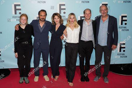 Luna Carpiaux, Yannick Choirat, Alix Poisson, Marie Colomb and Sam Karmann