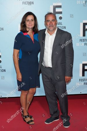 Antoine Dulery and his wife Pascale Pouzadou