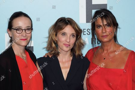 Editorial image of 'Laetitia' photocall, La Rochelle TV Fiction Festival, France - 13 Sep 2019