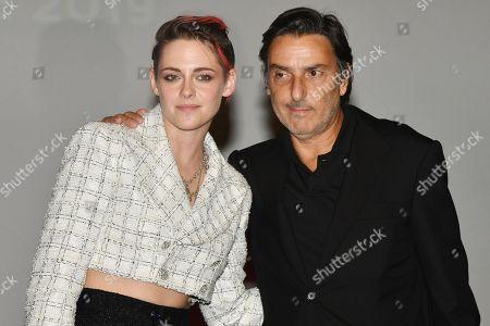 Yvan Attal and Kristen Stewart
