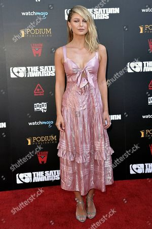 Melissa Benoist attends the 45th Annual Saturn Awards at the Avalon Hollywood, in Los Angeles