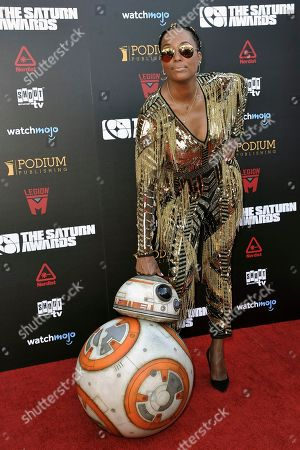 Aisha Tyler attends the 45th Annual Saturn Awards at the Avalon Hollywood, in Los Angeles