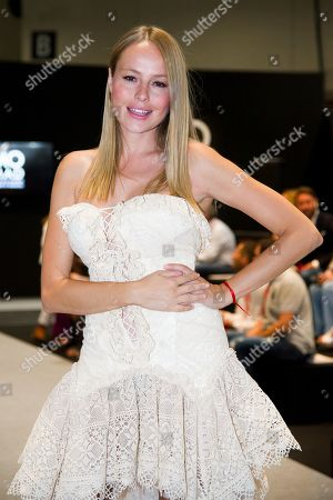 Stock Picture of Esmeralda Moya on the catwalk