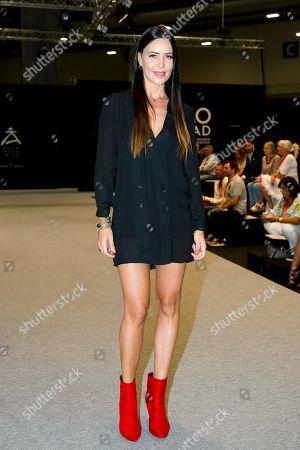 Vania Millan on the catwalk