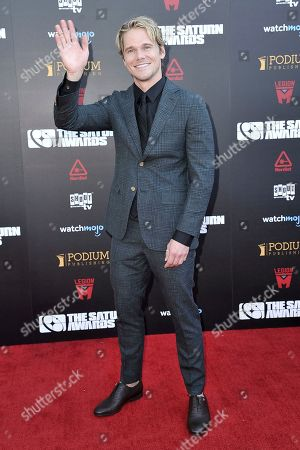 Michael Nardelli attends the 45th Annual Saturn Awards at the Avalon Hollywood, in Los Angeles