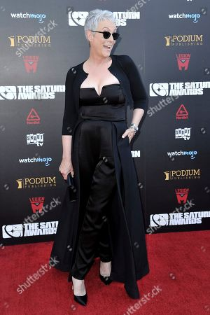 Stock Photo of Jamie Lee Curtis attends the 45th Annual Saturn Awards at the Avalon Hollywood, in Los Angeles