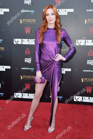 Chloe Dykstra attends the 45th Annual Saturn Awards at the Avalon Hollywood, in Los Angeles