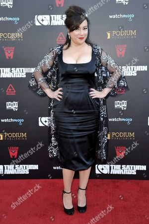 Jennifer Tilly attends the 45th Annual Saturn Awards at the Avalon Hollywood, in Los Angeles