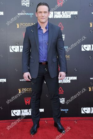 Andrey Ivchenko attends the 45th Annual Saturn Awards at the Avalon Hollywood, in Los Angeles