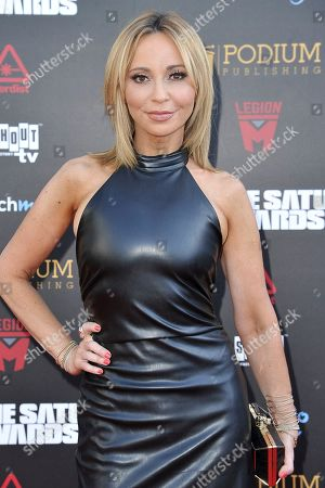 Stock Picture of Tara Strong attends the 45th Annual Saturn Awards at the Avalon Hollywood, in Los Angeles