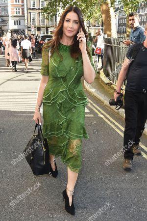 Lisa Snowdon leaves the Pam Hogg show