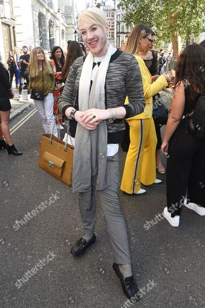 Lewis-Duncan Weedon leaves the Pam Hogg show