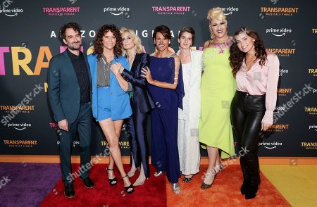 Jay Duplass, Amy Landecker, Judith Light, Alexandra Billings, Gaby Hoffmann, Shakina Nayfack and Trace Lysette