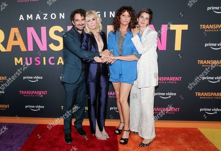 Jay Duplass, Judith Light, Amy Landecker and Gaby Hoffmann