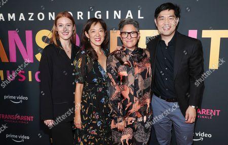 Alix Taylor, Gina Kwon, Jill Soloway and Albert Cheng
