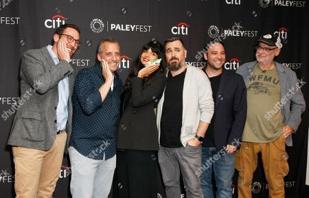 Editorial photo of 'The Misery Index' TV show presentation, Arrivals, Los Angeles, USA - 13 Sep 2019