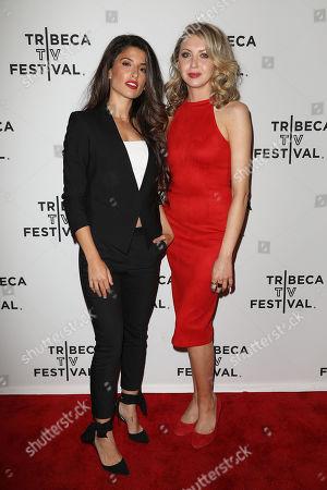 Tania Raymonde and Nina Arianda