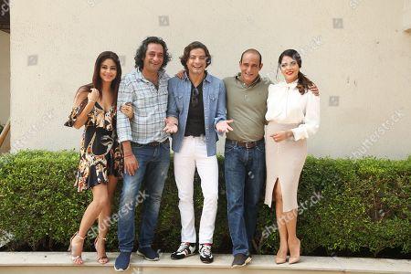 Bollywood actors Meera Chopra, Akshaye Khanna, Rahul Bhat, Richa Chadda and director Ajay Bahl