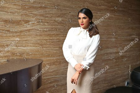 Stock Image of Richa Chadda poses for a picture