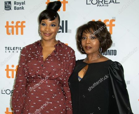 Nigerian-American director Chinonye Chukwu (L) and US actress and cast member Alfre Woodard (R) arrive for the premiere of the movie Clemency during the 44th annual Toronto International Film Festival (TIFF) in Toronto, Canada, 13 September 2019. The festival runs from the 05 September to 15 September 2019.