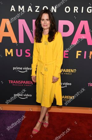 """Stock Photo of Elizabeth Reaser poses at the premiere of the Amazon Prime Video movie """"Transparent Musicale Finale"""" at the Regal Cinemas L.A. Live, in Los Angeles"""