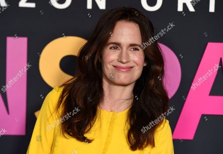 """Stock Picture of Elizabeth Reaser poses at the premiere of the Amazon Prime Video movie """"Transparent Musicale Finale"""" at the Regal Cinemas L.A. Live, in Los Angeles"""