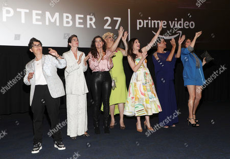 Faith Soloway, Gaby Hoffmann, Amy Landecker, Shakina Nayfack, Kathryn Hahn, Alexandra Billings and Amy Landecker