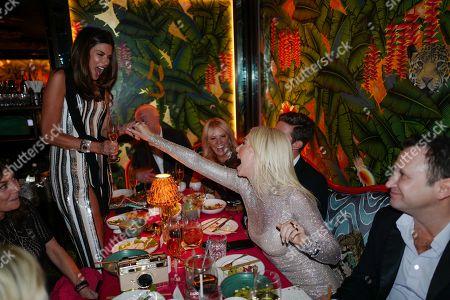 Editorial photo of Amanda Cronin birthday party at Annabel's, London, UK - 13 Sep 2019