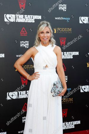 Ashley Eckstein arrives for the 45th annual Saturn Awards at The Avalon Hollywood in Los Angeles, California, USA, 13 September 2019. The Saturn Awards honors the best in science fiction, fantasy, horror and other genres in film, television, home media releases and theater.