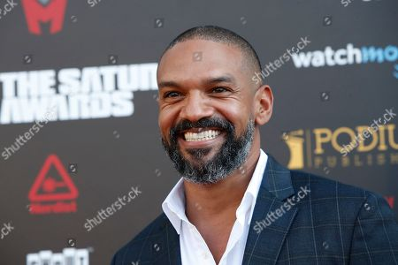 Khary Payton arrives for the 45th annual Saturn Awards at The Avalon Hollywood in Los Angeles, California, USA, 13 September 2019. The Saturn Awards honors the best in science fiction, fantasy, horror and other genres in film, television, home media releases and theater.
